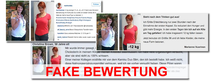 kankusta duo fake bewertunge