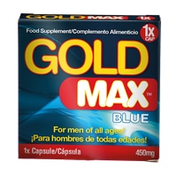 gold max product blue