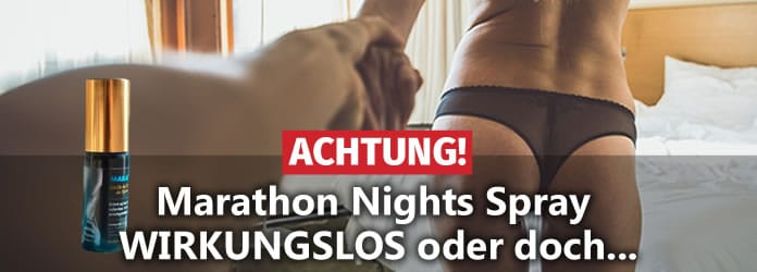 marathon nights spray test nebenwirkungen