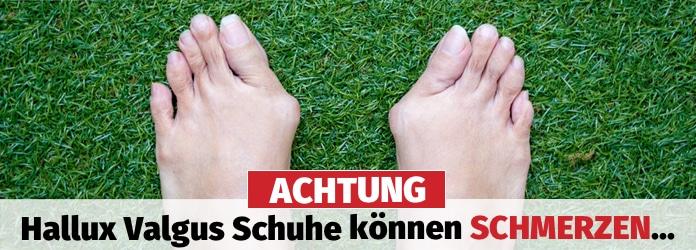 ACHTUNG! ᐅ Hallux Valgus Schuhe können SCHMERZEN