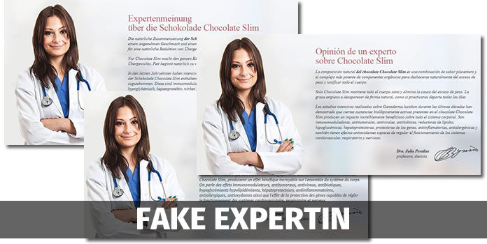 chocolate slim fake experte