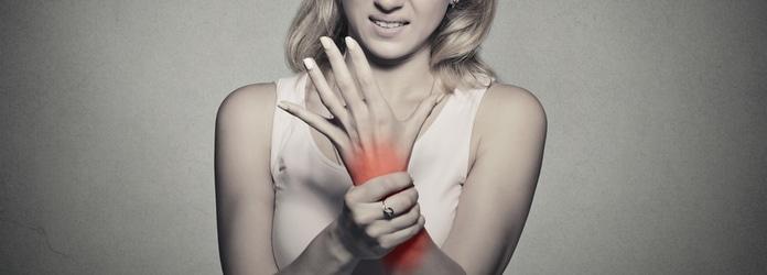 Gelenkschmerzen im Finger