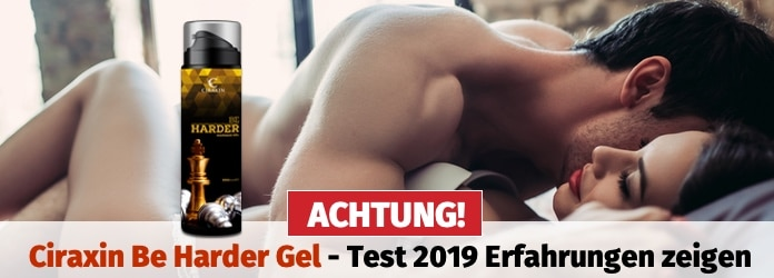 Be Harder Gel Massage Gel zur Potenzsteigerung
