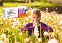 cetirizin ratiopharm allergie